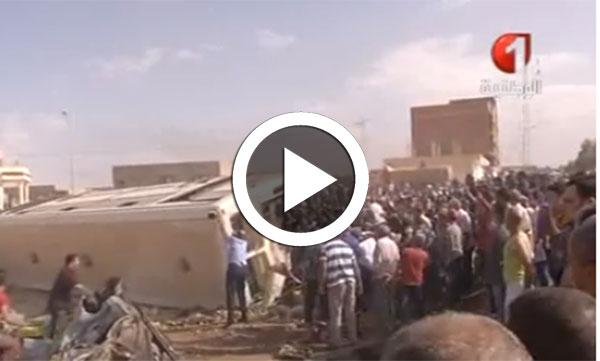 فيديو من موقع الحادث بمنطقة خمودة من معتمدية فوسانة بالقصرين