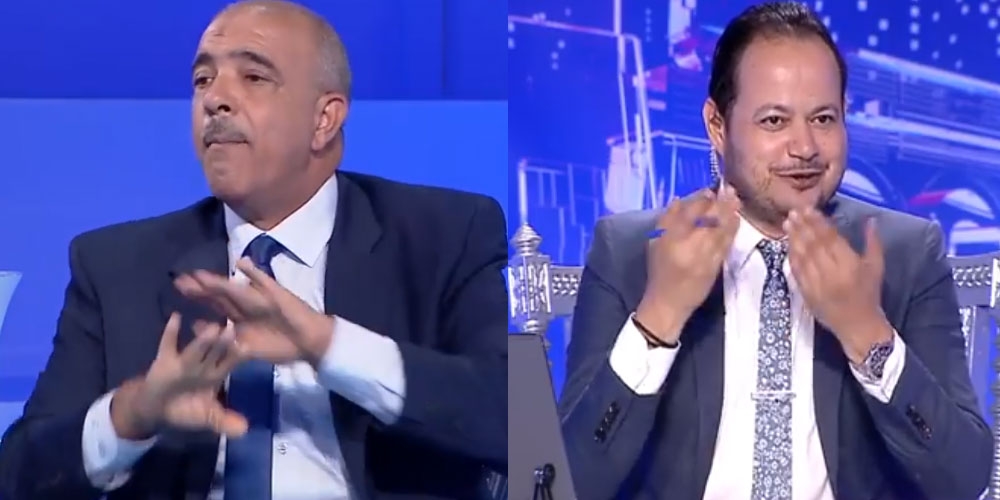 بالفيديو: سمير الوافي للعيوني: الفايسبوك متاعك فيه اللغة العبرية.. علاه ماتسكروش؟!