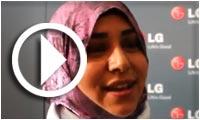 Interview de Mme Nadia Mattoussi : gagnante du concours LG