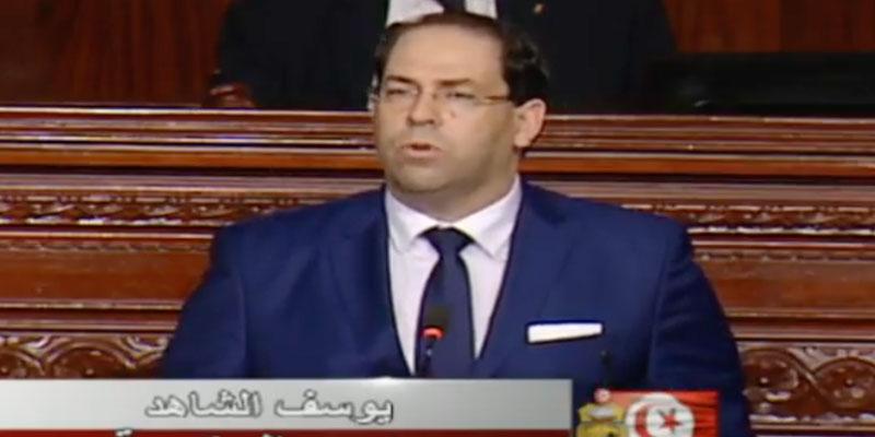En direct : Suivez Le vote de confiance du Gouvernement Chahed