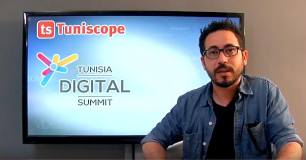 En vidéo : Mahdi Houli nous parle de l'évènement Tunisia Digital Summit