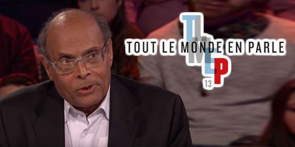 Moncef Marzouki à Tout Le Monde En Parle au Canada
