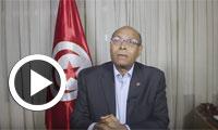 بالفيديو:منصف المرزوقي يوجه رسالة الى الشعب اليمني بمناسبة الذكرى الخامسة لثورته