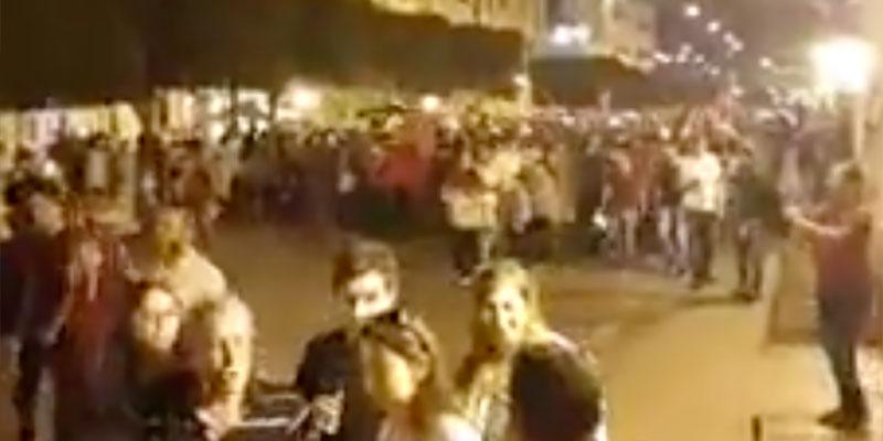 بالفيديو : مسيرة مليونية تجوب شارع الحبيب بورقيبة