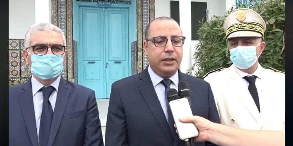 تصريح رئيس الحكومة  إثر زيارة تفقدية الى عدد من المؤسسات التربوية