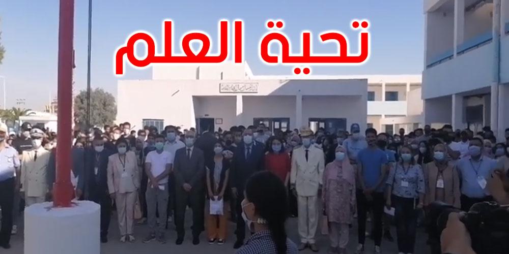 بالفيديو: رئيس الحكومة يواكب انطلاق الدورة الرئيسية للبكالوريا في معهد الفرابي بالمرناقية