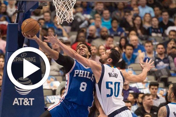 بالفيديو : مباراة مثيرة لصالح الماجري في  في بطولة كرة السلة الأمريكية