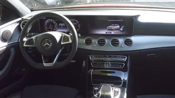 Découvrez le pilote automatique de stationnement de la Mercedes Classe E