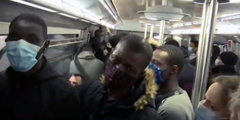 Déconfinement à Paris : Le métro parisien déjà bondée