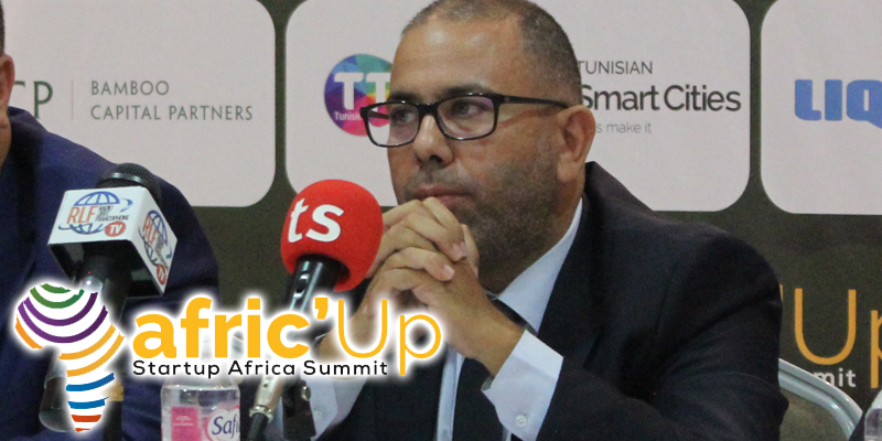 En vidéo...Afric'Up :  Allocution de M. M'Hamed DALLA, ambassadeur Smart Africa