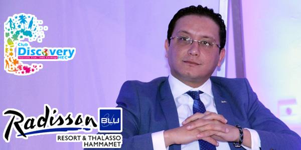 Allocution de M. Riadh Najaa, Directeur commercial Radisson Blu Resort & Thalasso Hammamet