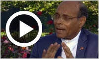 Moncef Marzouki talks about the challenge of terrorism