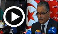 Live streaming : Conférence de presse de Mohsen Marzouk