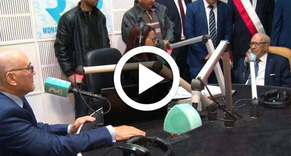 بالفيديو قايد السبسي : ''من يحاولون تشويه تاريخ الزعيم الحبيب بورقيبة سيجدون أنفسهم في مزبلة التاريخ''