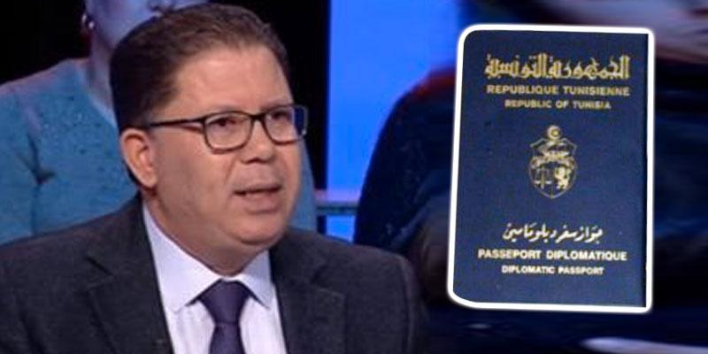 ناجي الزعيري : إستعمال جواز السفر الدبلوماسي في تهريب النقود