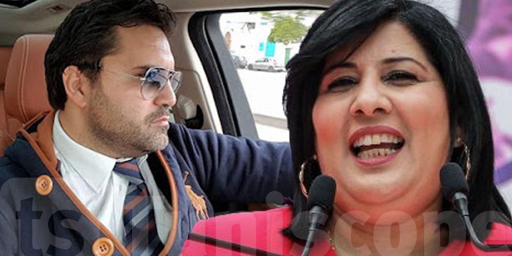 بالفيديو : بولبيار يكشف شنوة صار مع عبير موسي في ''الاسونسور''