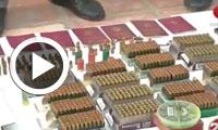 بالفيديو..حجز أسلحة وذخائر على ملك مواطن بلجيكي