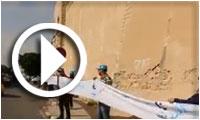 بالفيديو : سلسلة بشرية حول سور صفاقس من تنظيم النهضة