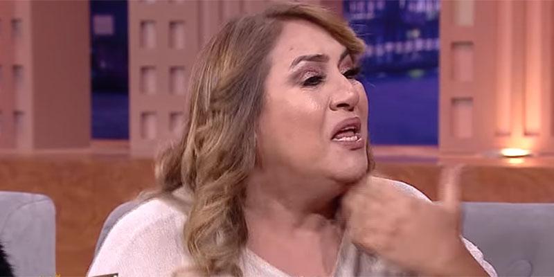 بالفيديو : نعيمة الجاني تبكي بحسرة بسبب المنصف ذويب
