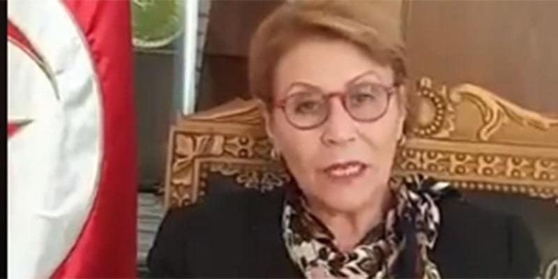 بالفيديو، وزيرة المرأة والأسرة والطفولة وكبار السن تنشر كلمة الوداع