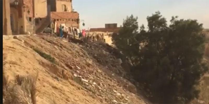 En vidéo : La Corbeille de Nefta se transforme en Décharge de Déchets