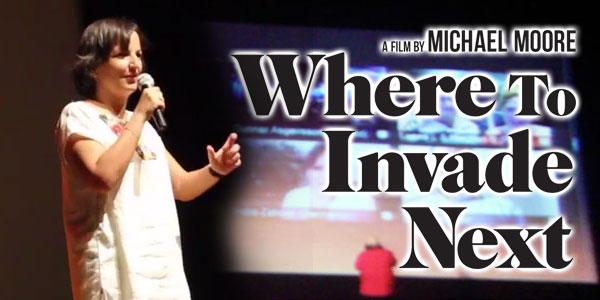 Projection-débat du film de Michael Moore Where to Invade Next
