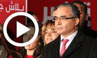 بالفيديو : اجواء إحتفالية مقر حملة الباجي قائد السبسي