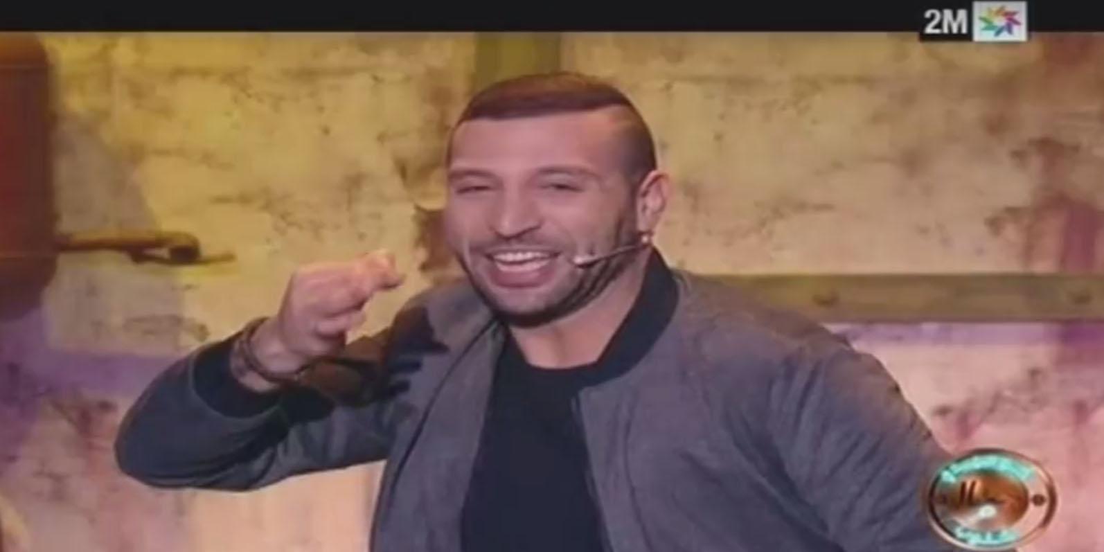 بالفيديو: نضال السعدي في برنامج كوميدي على الشاشات المغربية في رمضان