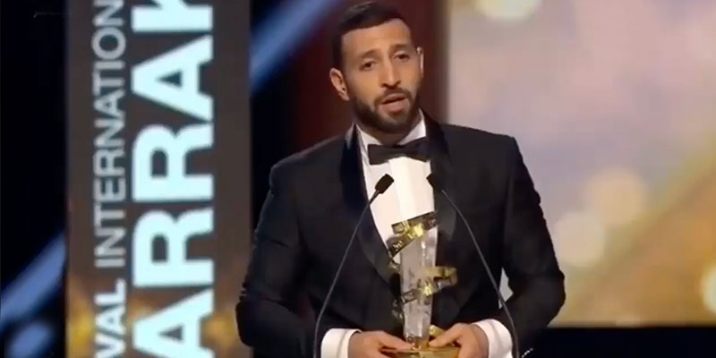 En vidéo : Prix d'interprétation masculine du Festival de Marrakech à Nidhal Saadi