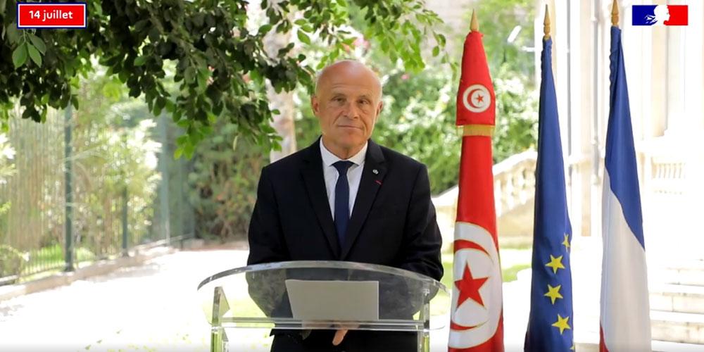 Discours du 14 juillet d'Olivier Poivre d'Arvor Ambassadeur de France