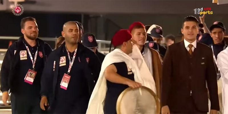 بالفيديو، بعثة تونس للأولمبياد الخاص الألعاب العالمية بأبو ظبي