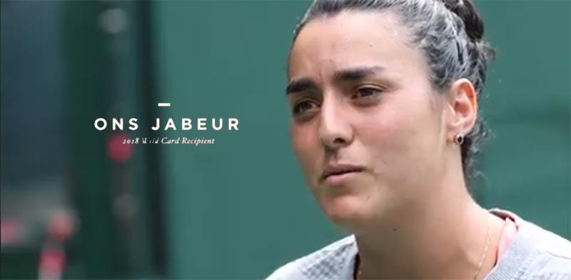 En vidéo : Rencontrez Ons Jabeur, l'étoile montante du tennis tunisien