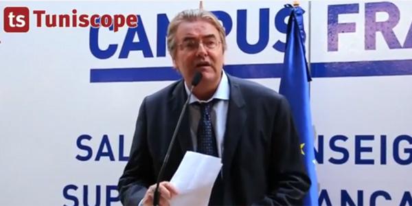 Allocution de M.Patrick FLOT, Directeur de l'Institut Français au Salon Campus France