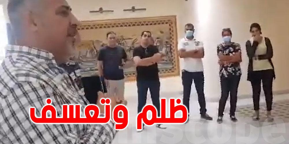 بالفيديو.. إحتجاج أعوان إدارة الشرطة الفنية والعلمية ضد ''الظلم والتعسف''