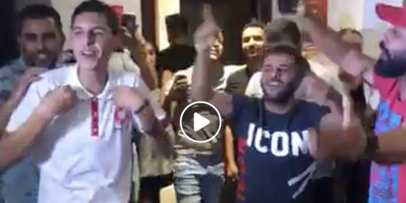 فيديو: فرحة الإنتصار داخل مقر حزب قلب تونس