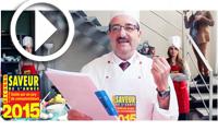 2ème édition des Ateliers Découverte des Saveurs de l'Année 2015 avec le grand Chef Rafik Tletli