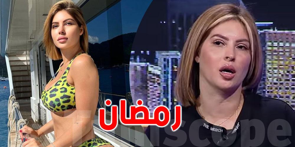 ''بالفيديو..مريم الدباغ ''طلبوا مني نهبط تصويرتي بالبيكيني أول نهار في رمضان
