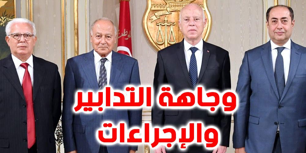 بالفيديو، أبو الغيط : آراء قيس سعيد إيجابية وله رغبة قوية في إستعادة الدولة الوطنية