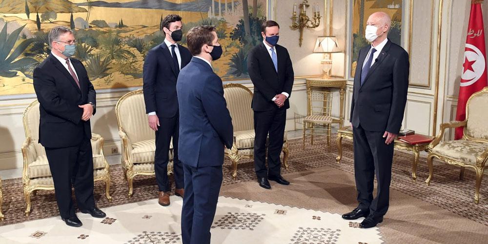 بالفيديو: لقاء رئيس الجمهورية قيس سعيد مع وفد من مجلس الشيوخ الأمريكي