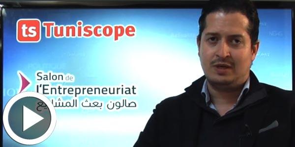 M. Foued El Houki parle de l'objectif de la participation de SmartWash au Salon de l'Entrepreneuriat 2017