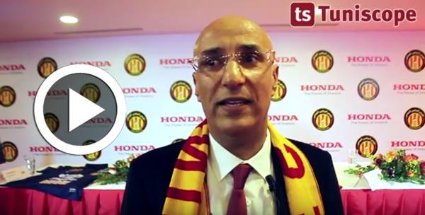 Samir Landolsi : Ce qui est en commun entre l'EST et HONDA c'est la performance et la fiabilité...