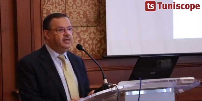 Allocution de M. Samir Bettaieb ministre de l'agriculture, des ressources hydrauliques et de peche