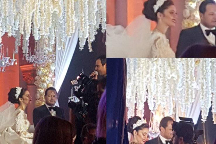 بالفيديو: أجواء ليلة زفاف سمير الوافي