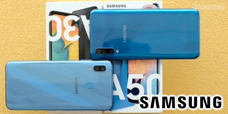 Découvrez les Samsung Galaxy A30 et le Galaxy A50