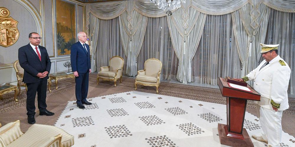 En vidéo: Le nouveau gouverneur de Kébili prête serment