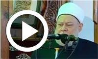 بالفيديو : على جمعة باكيًا على شهداء سيناء