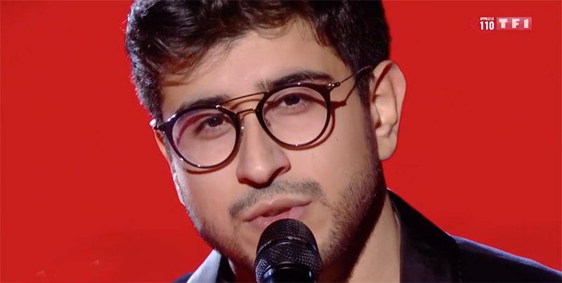 Le Tunisien Marouen met le feu à la scène de The Voice