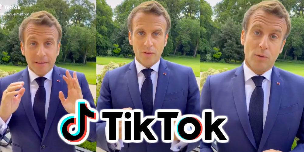 En vidéo : Macron sur TikTok pour féliciter les bacheliers