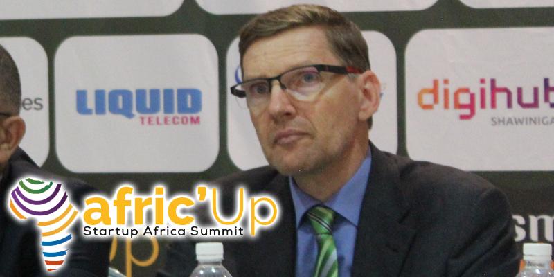 En vidéo...: Afric' Up : Allocution de M. Tobias Seiberlich, GIZ