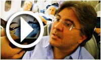 Interview de Mohamed Ali Toumi à bord du A330 Syphax de Montréal à Tunis